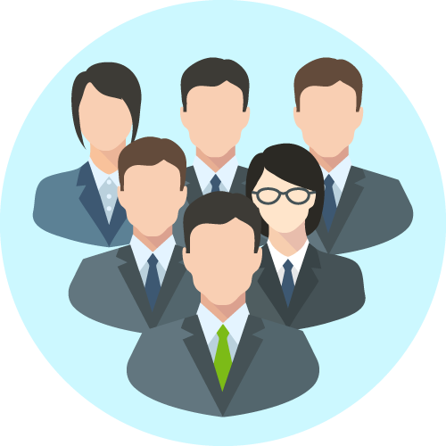 専門チーム体制を構築し常駐も可能