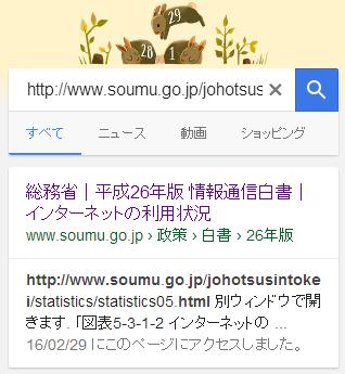 Google検索でスマホ非対応の場合の表示