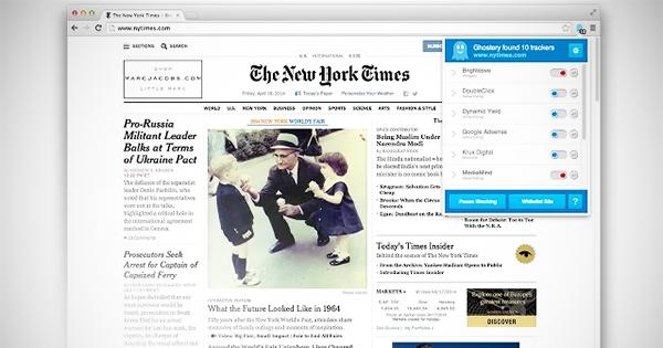 Chromeの定番な拡張機能「このホームページ、どんなトラッキングしてる?」