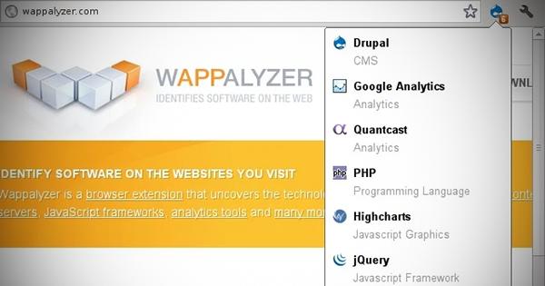 Wappalyzerなら、競合サイトを丸裸にできます